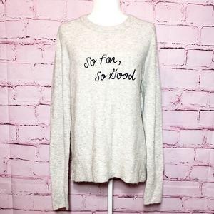 Madewell So Far So Good Sweater
